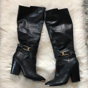 🎉 Aldo Black Leather Boots